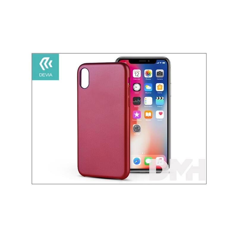 Devia ST305382 CEO 2 iPhone X piros hátlap