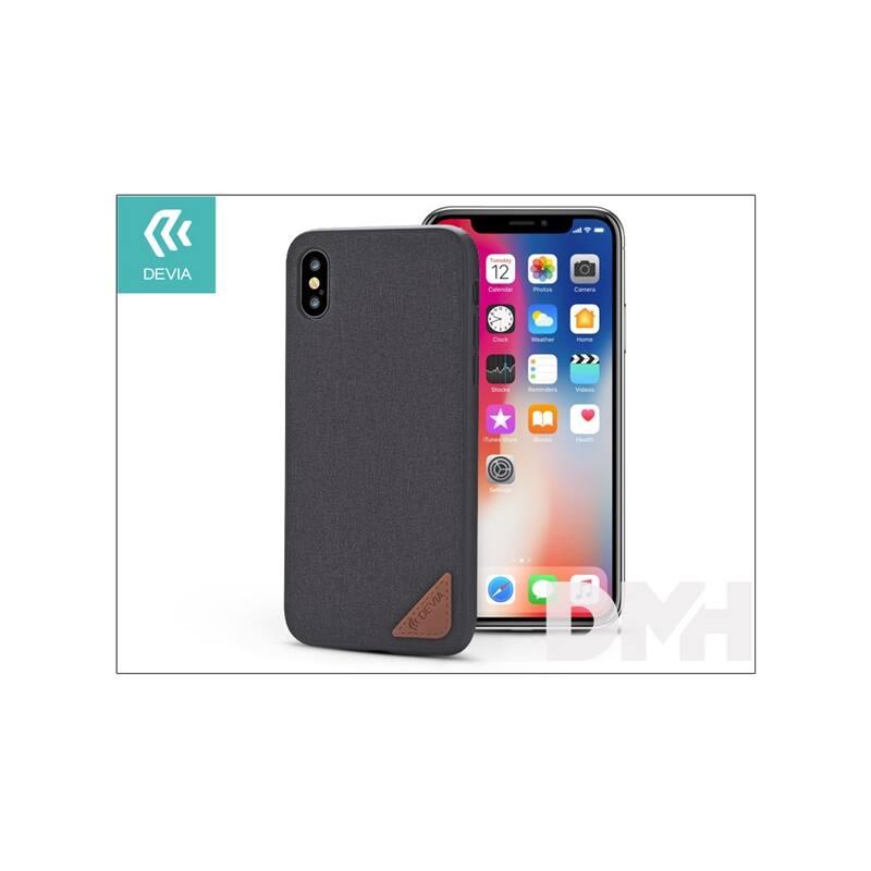 Devia ST305726 ACME iPhone X fekete hátlap