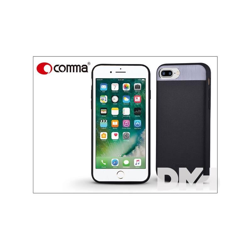Comma ST985042 VIVID LEATHER iPhone 7/8+ fekete hátlap