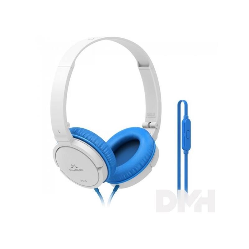 SoundMAGIC P11S On-Ear fehér-kék fejhallgató headset