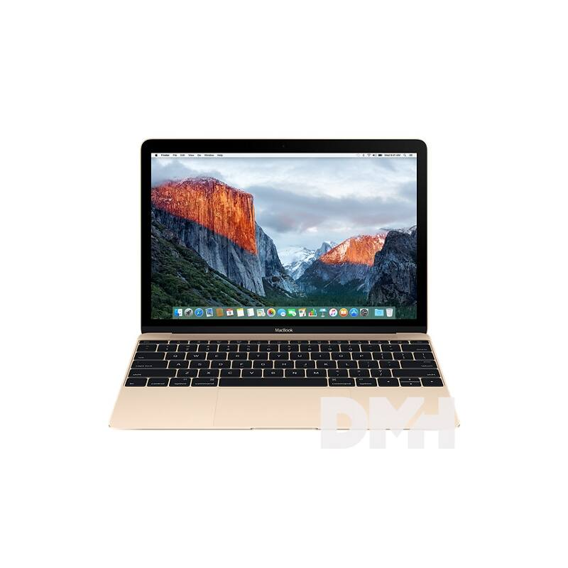 """Apple MacBook 12"""" Retina/Intel Core m3 DC 1,2GHz/8GB/256GB/Intel HD 615/arany laptop"""