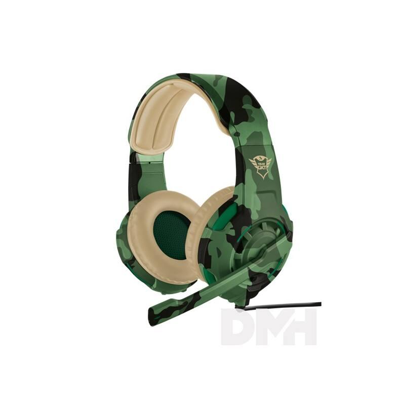 Trust GXT 310C Radius jungle camo gamer headset