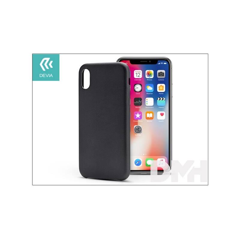 Devia ST305412 NATURE iPhone X fekete hátlap