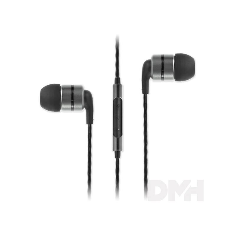 SoundMAGIC E80C In-Ear metálszürke fülhallgató headset