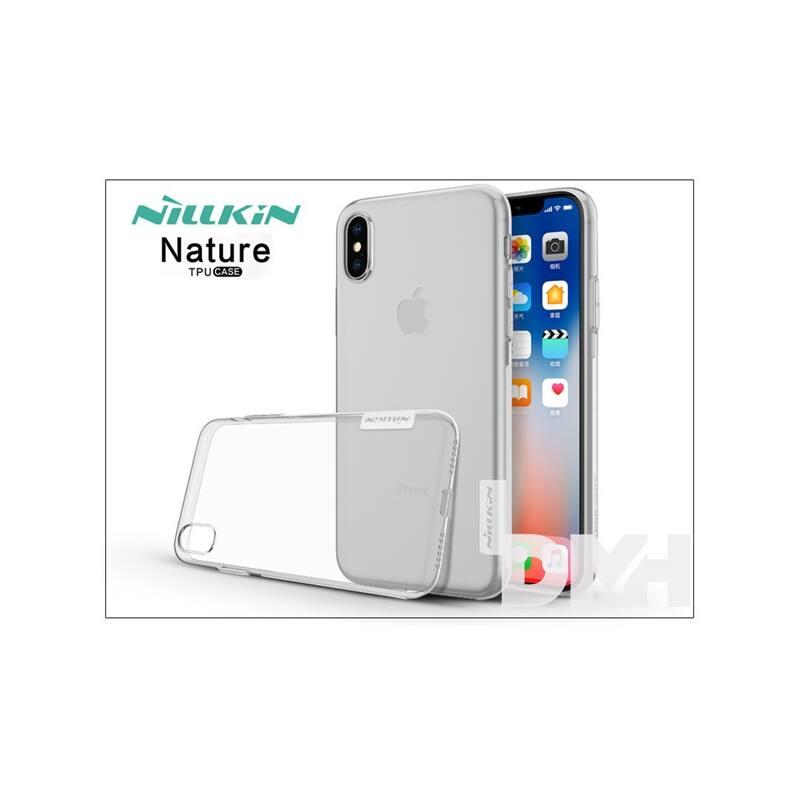 Nillkin NL146549 NATURE iPhone X átlátszó szilikon hátlap