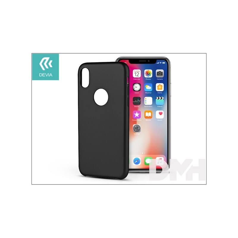 Devia ST300950 CEO iPhone X fekete hátlap