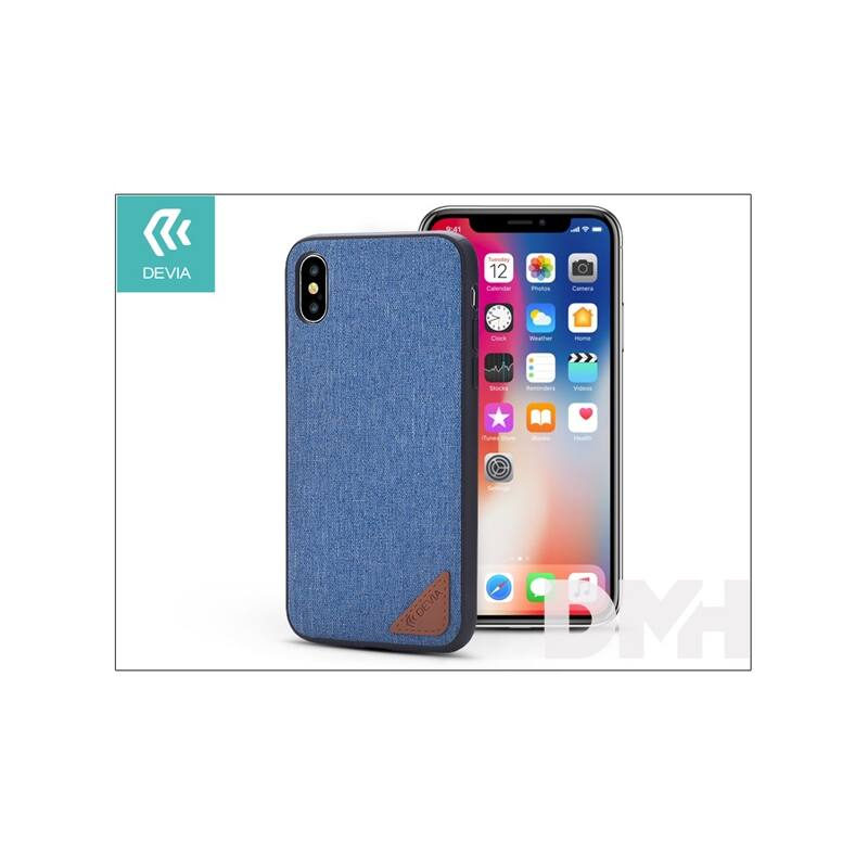 Devia ST305740 ACME iPhone X kék hátlap