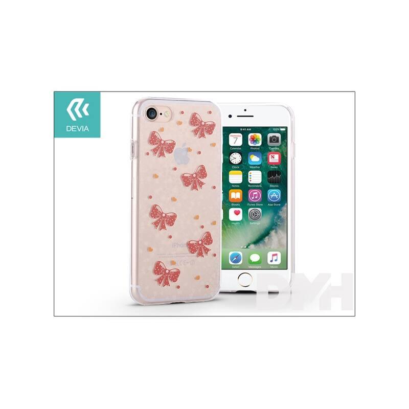 Devia ST995492 NIFTY BOWKNOT iPhone 7 szilikon hátlap