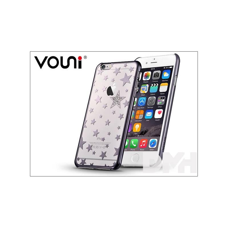 Vouni ST969028 Crystal STAR iPhone 6+/6S+ fegyver fekete hátlap
