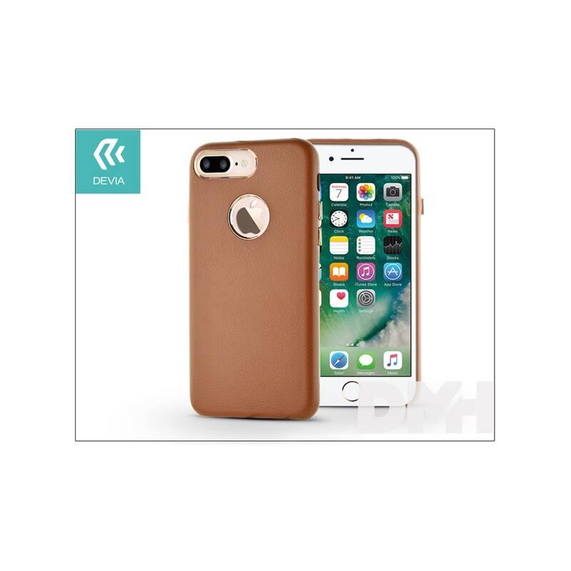 Devia ST993337 SUCCESSOR iPhone 7+ barna hátlap
