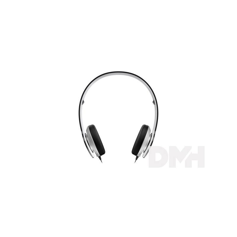 Genius HS-M430 fekete beépített mikrofonos headset