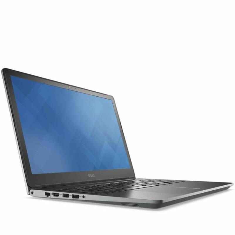 Notebook DELL Vostro 5568 Core i5 7200U (3.1GHz), Intel HD VGA, 1x4GB DDR4, 1TB, W10 Home 64, 15,6in, 1366x768,AF328 anti-Glare, HD Cam, 802.11ac+BT 4.0, 3cell, Fingerprint reader, HU backlit keyboard, 3 Carry In
