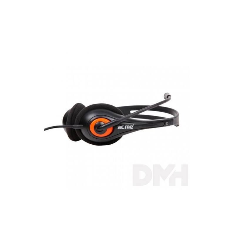 Acme HM01 mikrofonos fejhallgató