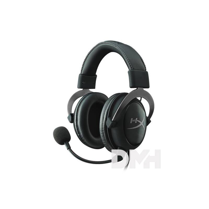 Kingston HyperX Cloud II Gun Metal 3,5 Jack, USB gamer headset