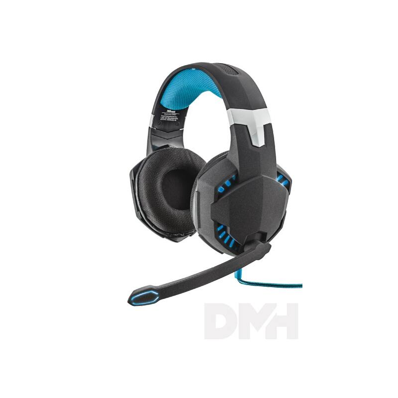 Trust GXT 363 Hawk 7.1 Bass Vibration gamer USB headset
