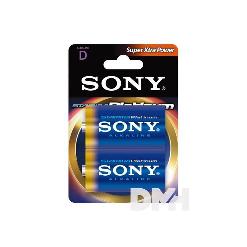 Sony Stamina Platinum 2db AM1 D alkáli elem