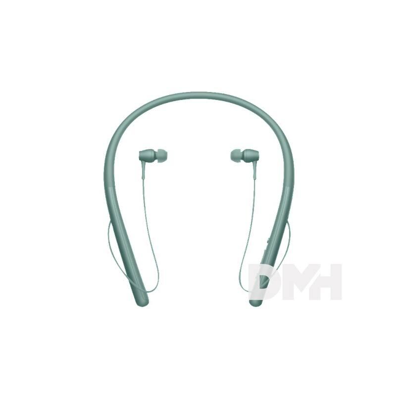 Sony WIH700 Hi-Res Bluetooth zöld fülhallgató headset