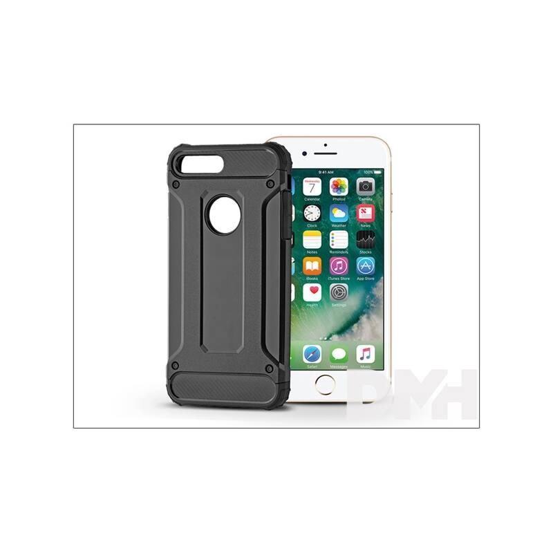 Haffner PT-4124 iPhone 7+/8+ fekete ütésálló hátlap