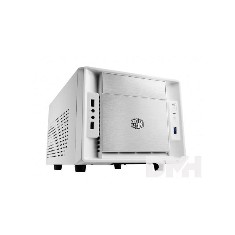 Cooler Master Elite 120 Advanced táp nélküli fehér miniITX ház