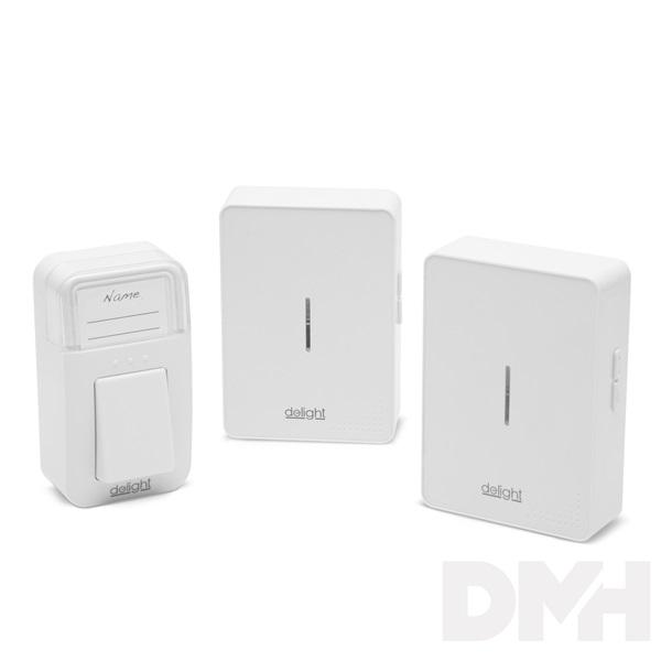 Delight digitális elem- és vezeték nélküli dupla csengő I 55340 I Ár 6.390  Ft I eShop24 - Vásárolj otthonról kényelmesen! 81197c8e78